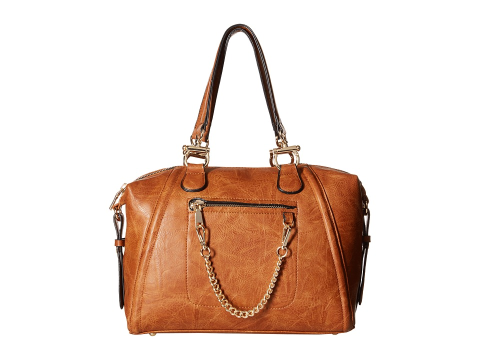 Gabriella Rocha - Isla Tote with Gold Chain (Tan) Satchel Handbags