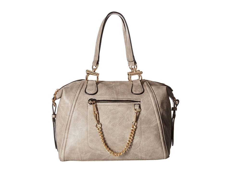 Gabriella Rocha - Isla Tote with Gold Chain (Grey) Satchel Handbags
