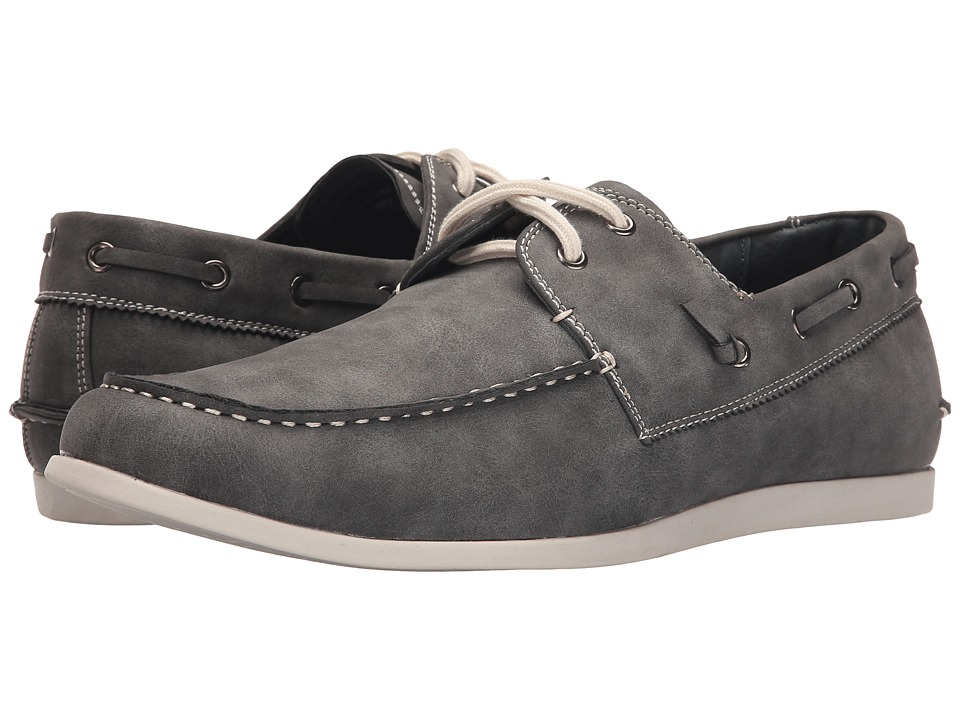 Steve Madden - Gambit (Grey) Men's Slip on Shoes
