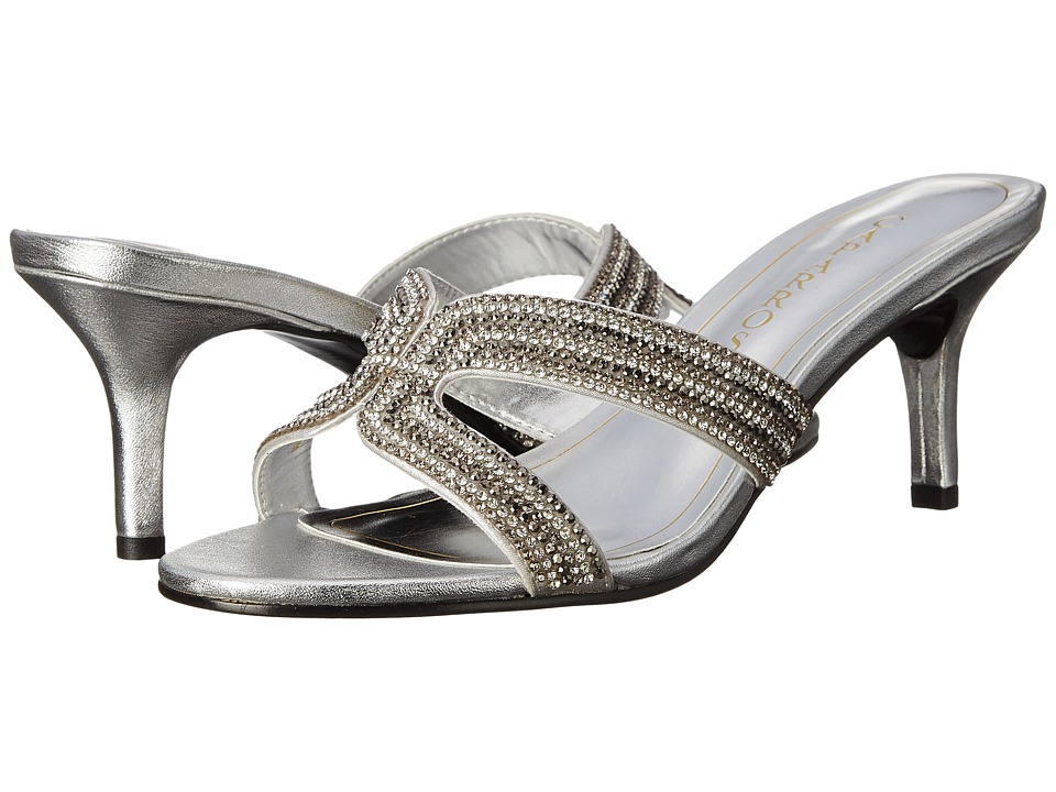 Caparros - Cynthia (Silver Metallic) Women's 1-2 inch heel Shoes