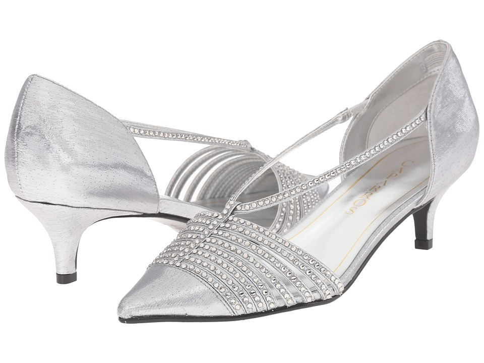 Caparros - Camille (Silver Lame) Women's 1-2 inch heel Shoes