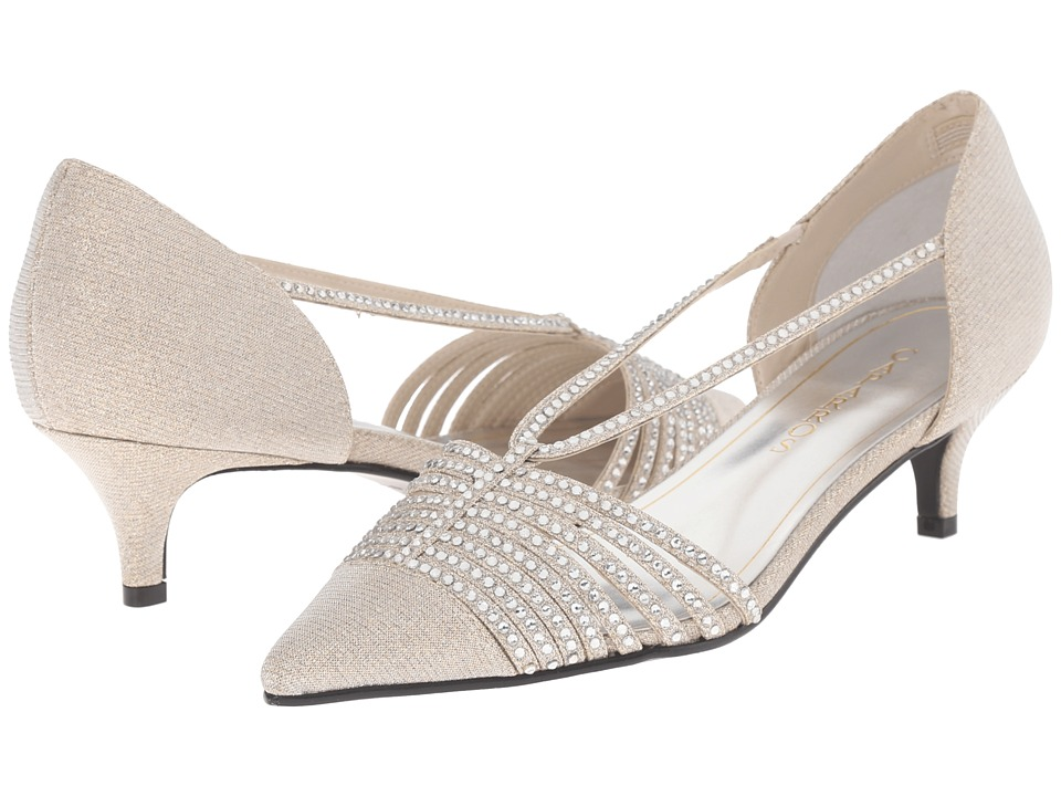 Caparros - Camille (Nude Glimmer) Women's 1-2 inch heel Shoes