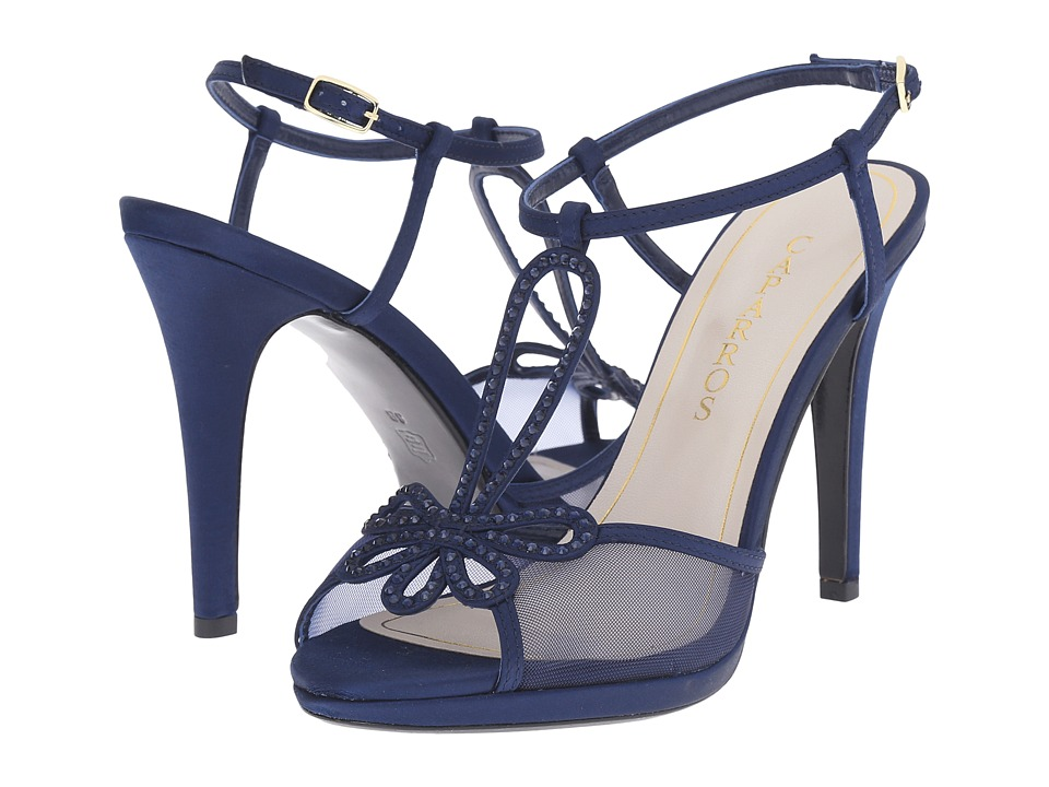 Caparros Claudia (Navy New Satin) High Heels