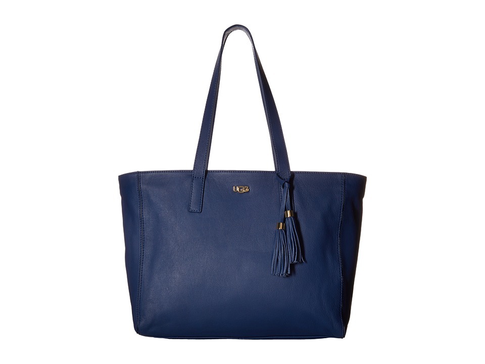 UGG - Rae Tote (Racing Stripe Blue) Tote Handbags
