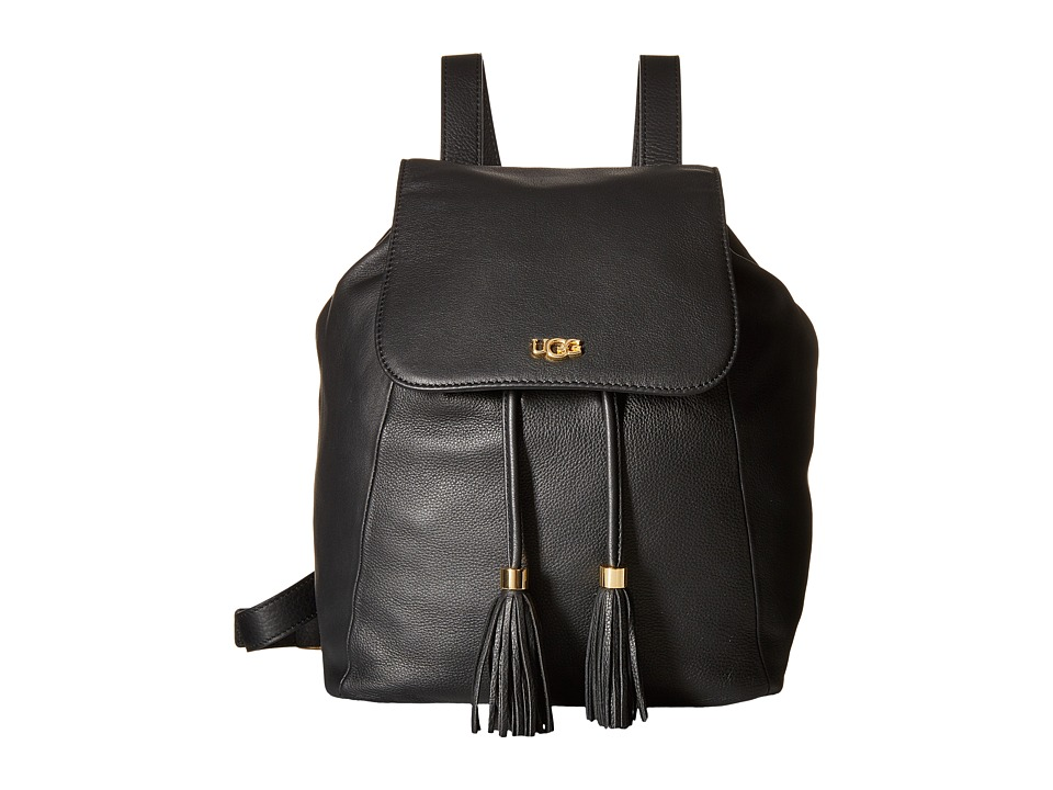 UGG - Rae Backpack (Black) Backpack Bags