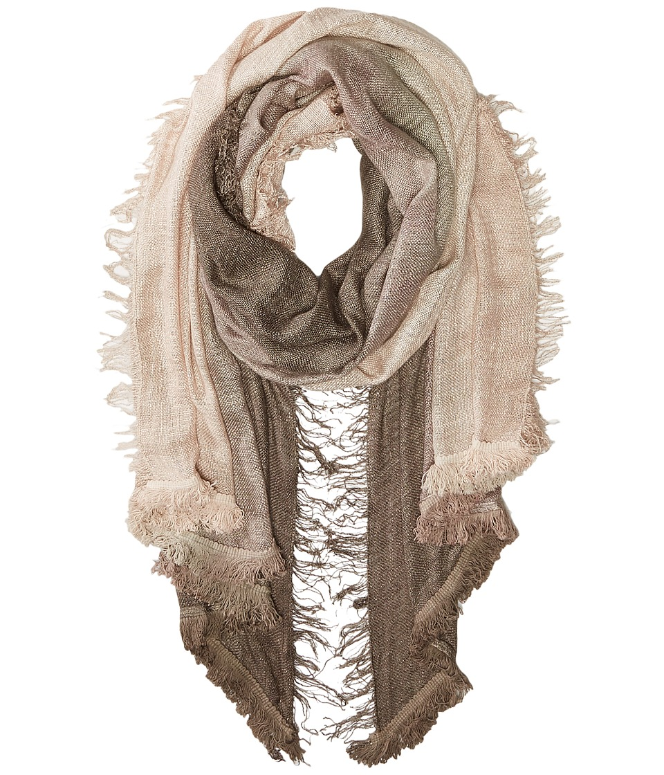 Vince Camuto - Magic Carpet Fringe Wrap (Pine Bark) Scarves