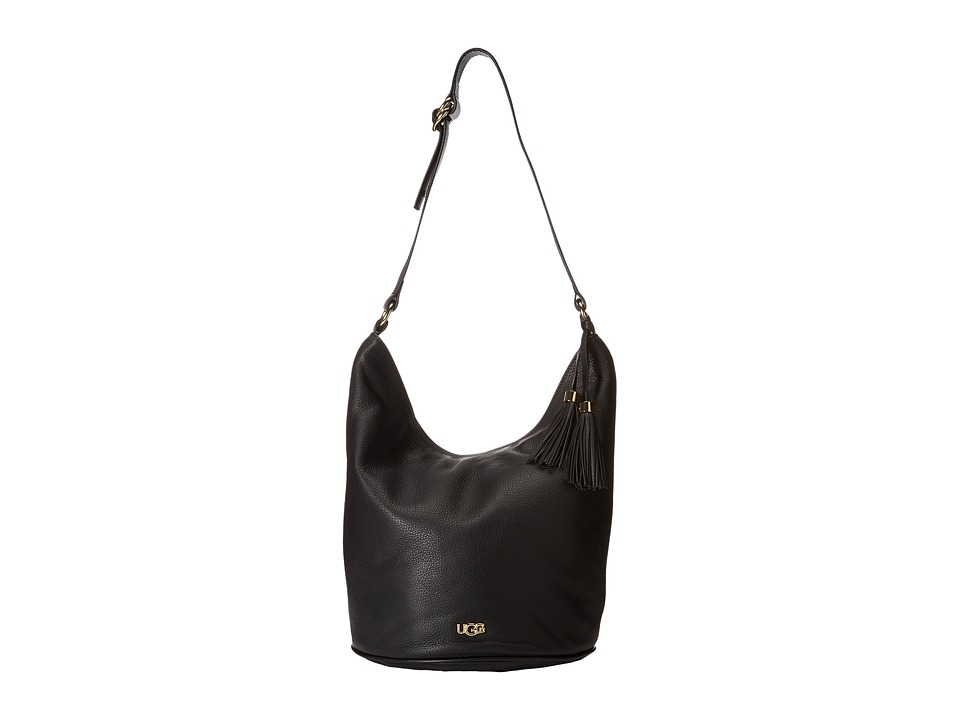 UGG - Rae Hobo (Black 1) Hobo Handbags