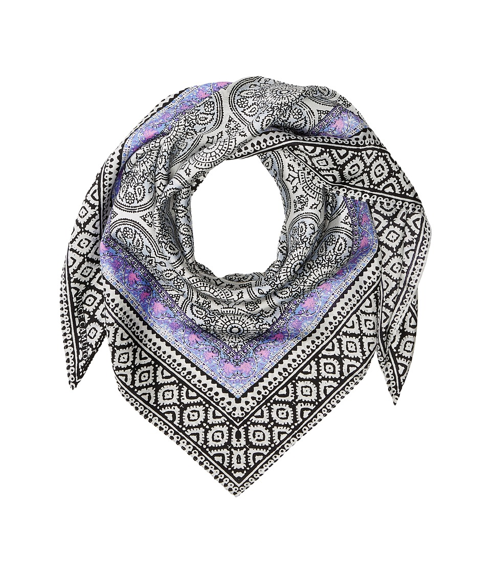 Vince Camuto - Mumbai Medallions (Night Shadow Blue) Scarves