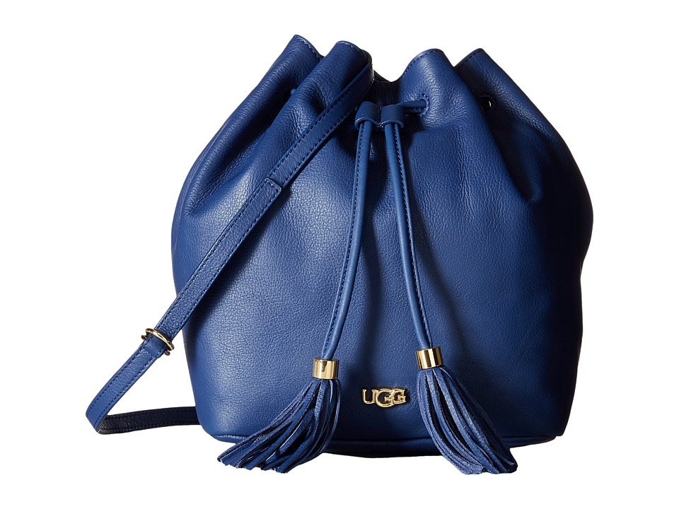 UGG - Rae Bucket (Racing Stripe Blue) Handbags