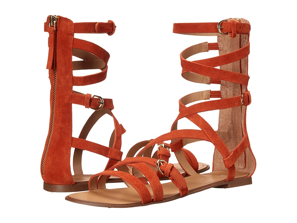 Joe's Jeans - Teddy (Orange) Women's Sandals