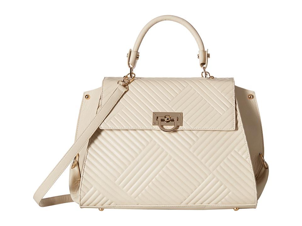 Gabriella Rocha - Clio Pattern Purse (Taupe) Handbags