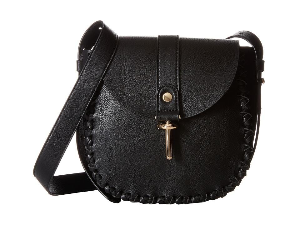 Gabriella Rocha - Caia Purse with Braid Detail (Black) Cross Body Handbags
