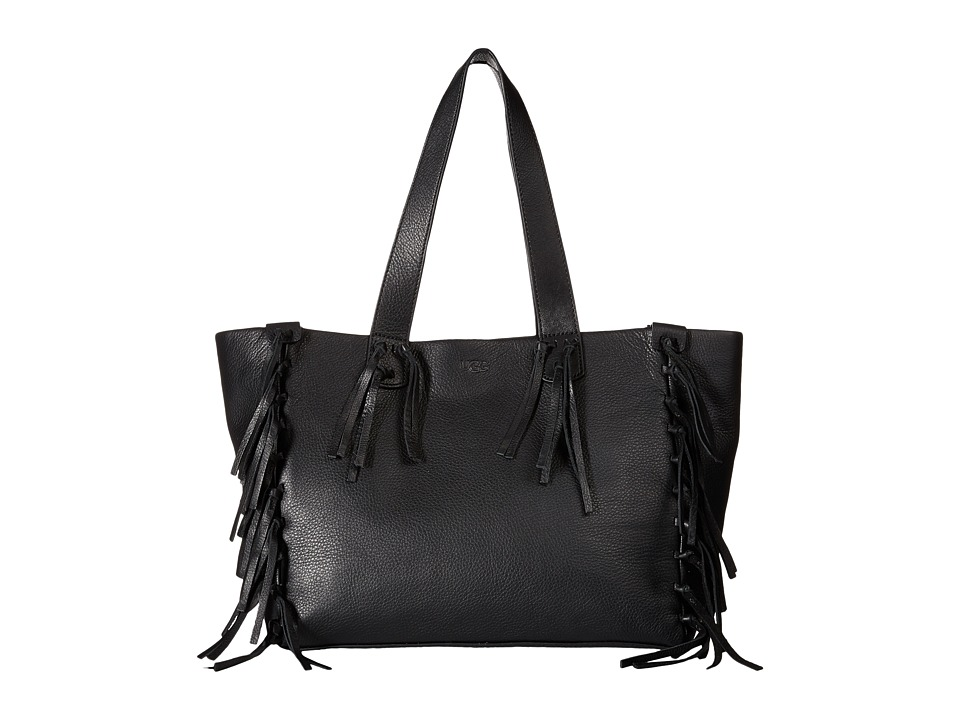 UGG - Lea Tote (Black 1) Tote Handbags