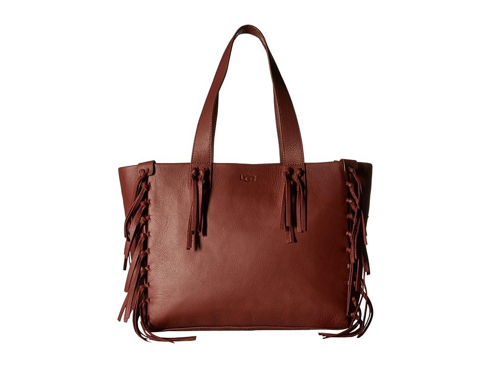 UGG - Lea Tote (Rust) Tote Handbags