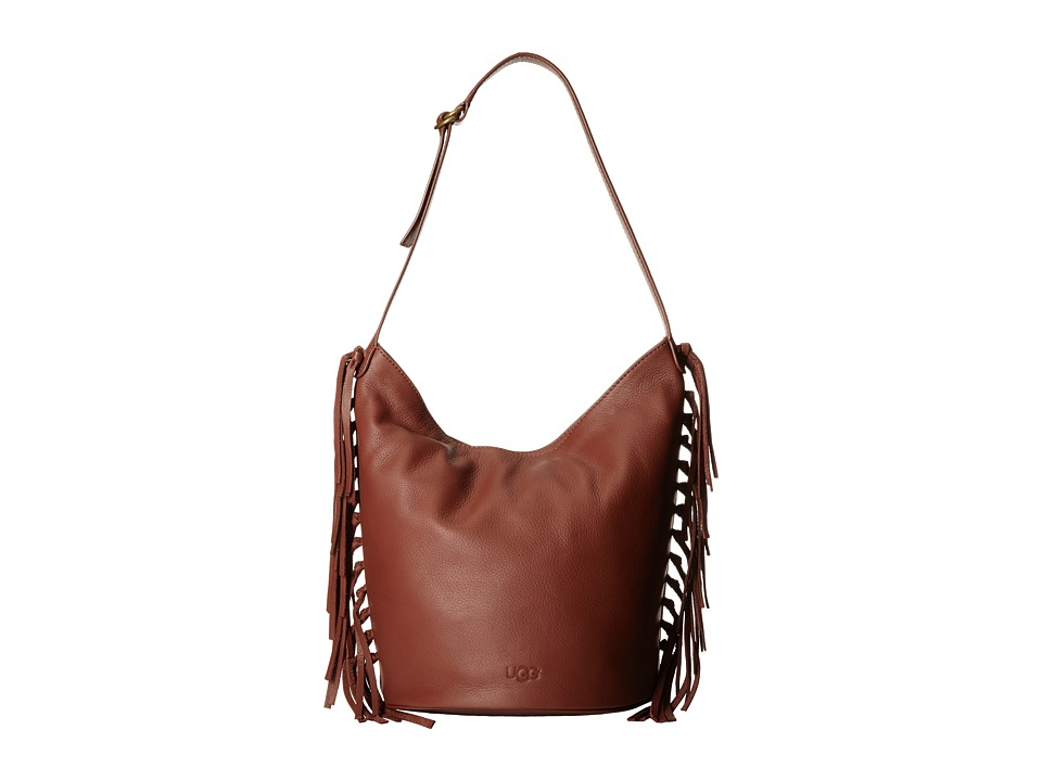 UGG - Lea Hobo (Rust) Hobo Handbags