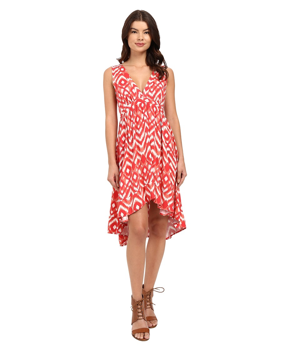 BB Dakota - Brianna Jallabah Printed Rayon Dress (Glow) Women's Dress