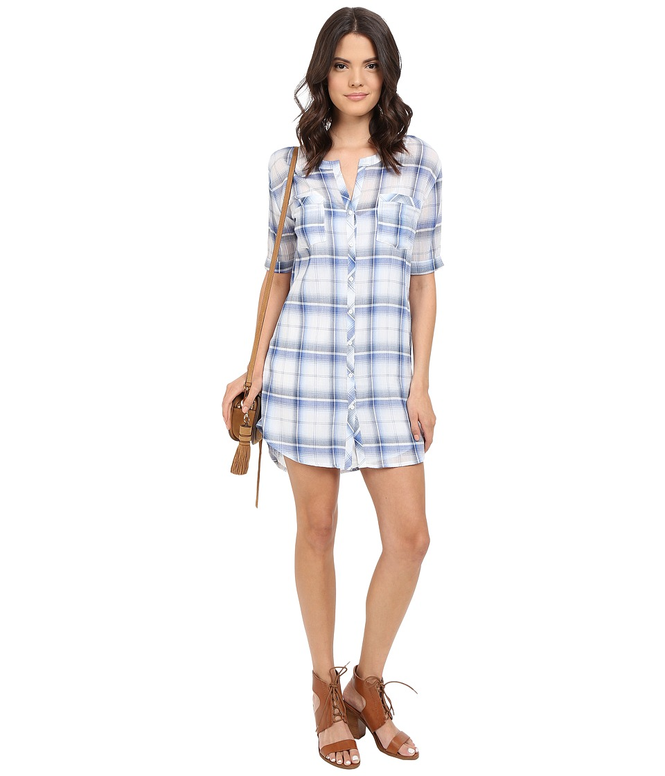 BB Dakota - William Plaid Shirtdress (Multi) Women's Dress