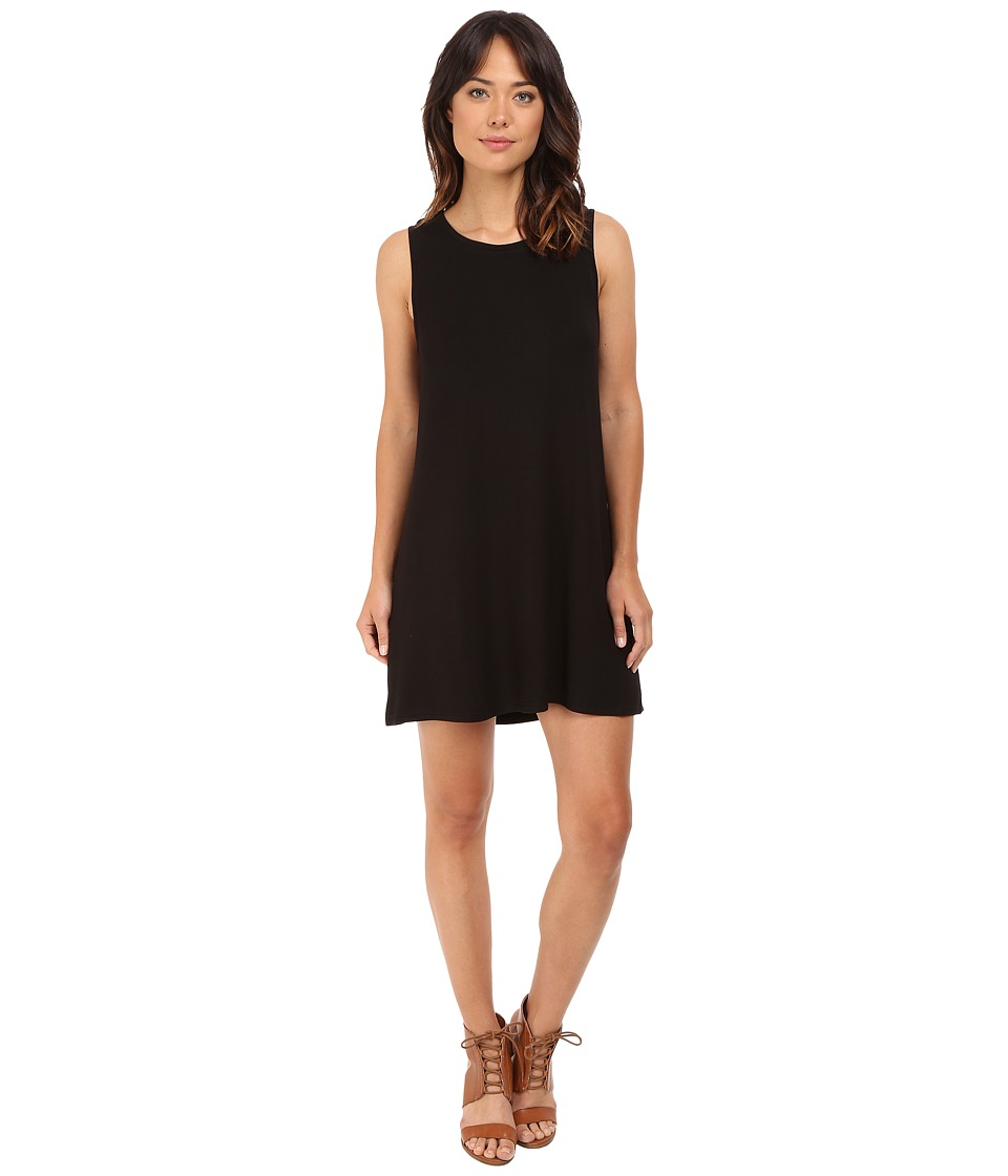 BB Dakota - Lennon French Terry Dress (Black) Women's Dress