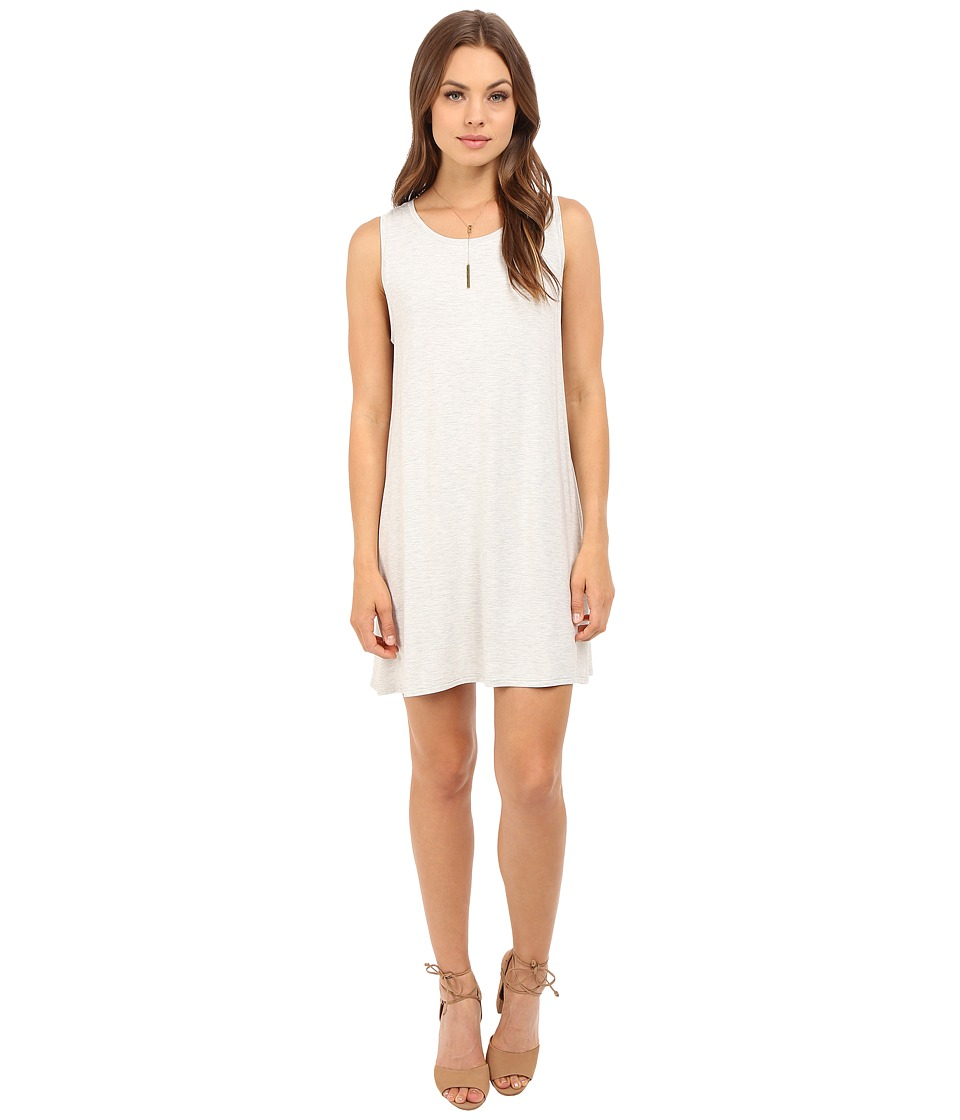 BB Dakota - Lennon French Terry Dress (Heather Grey) Women's Dress