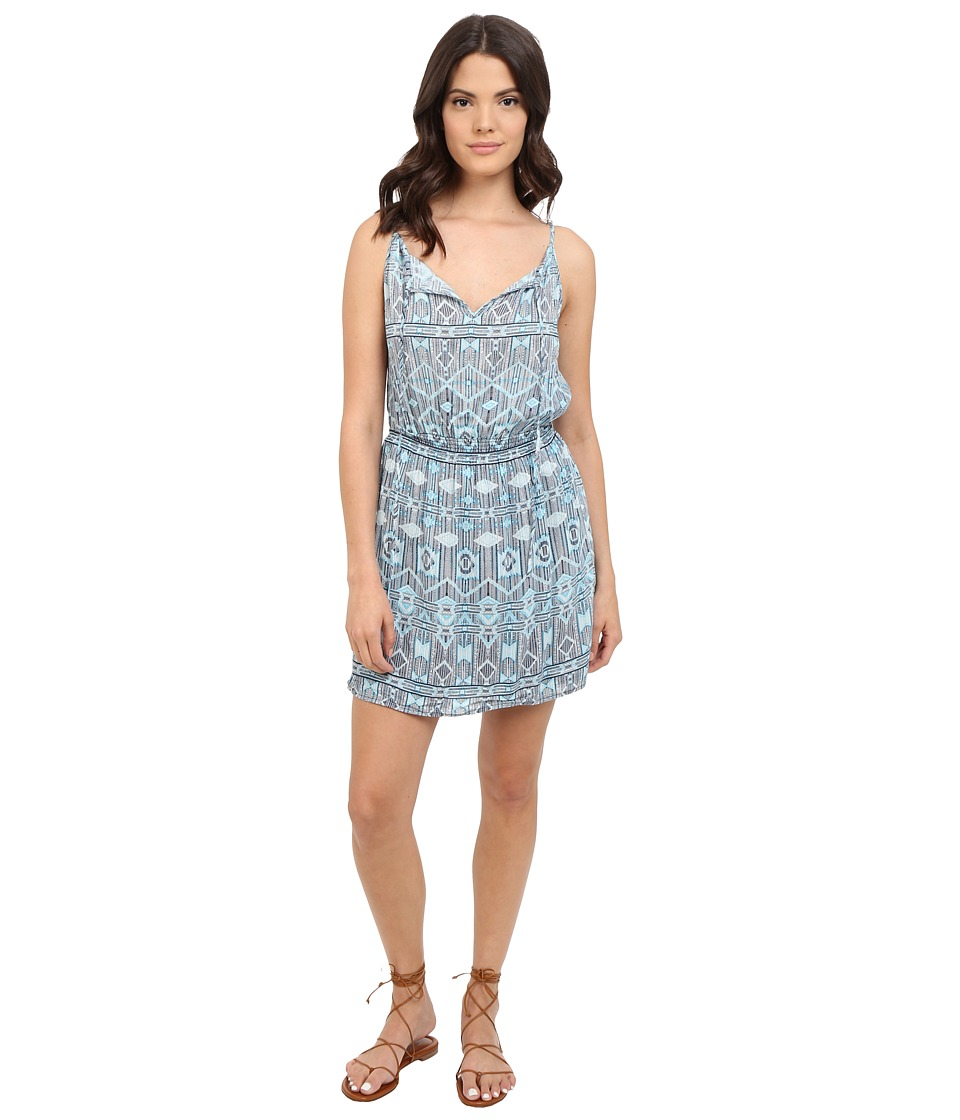BB Dakota Stacey Moroccan Tile Twill Dress (Multi) Women