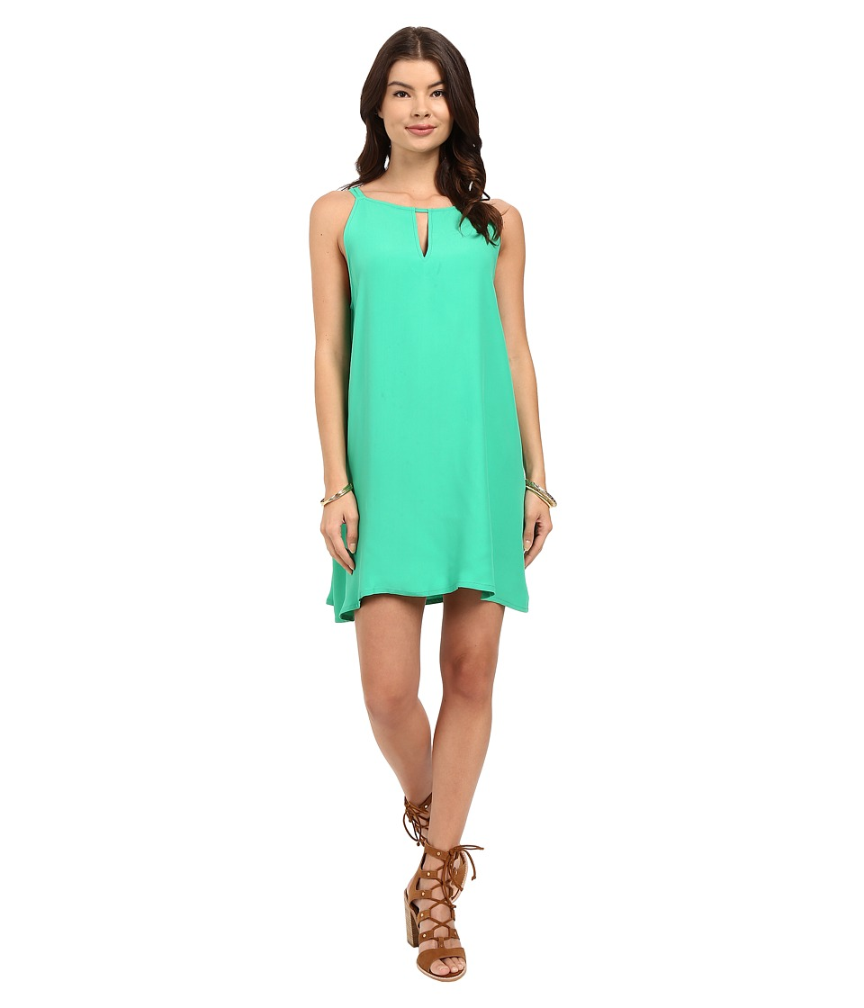 BB Dakota Rachel A-Line Crepe Dress (Jade) Women