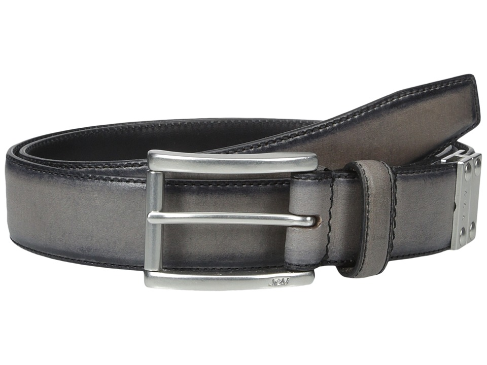 John Varvatos - 32mm Harness Reverse Calf Belt (Elephant) Men's Belts