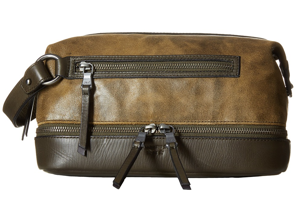 John Varvatos - Brooklyn Dopp Kit (Olive) Bags