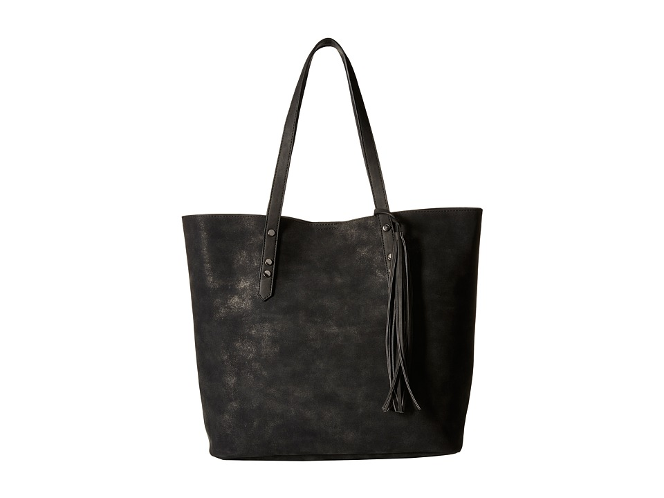 Gabriella Rocha - Addison Tote with Tassel (Black) Tote Handbags