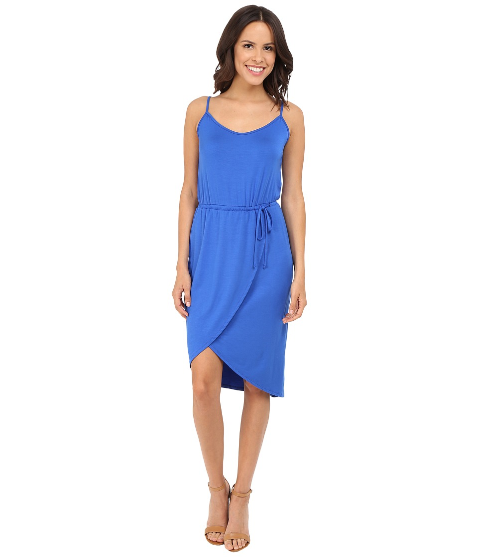 Michael Stars - Cami Wrap Dress w/ Tie Waist (Cobalt) Women's Dress