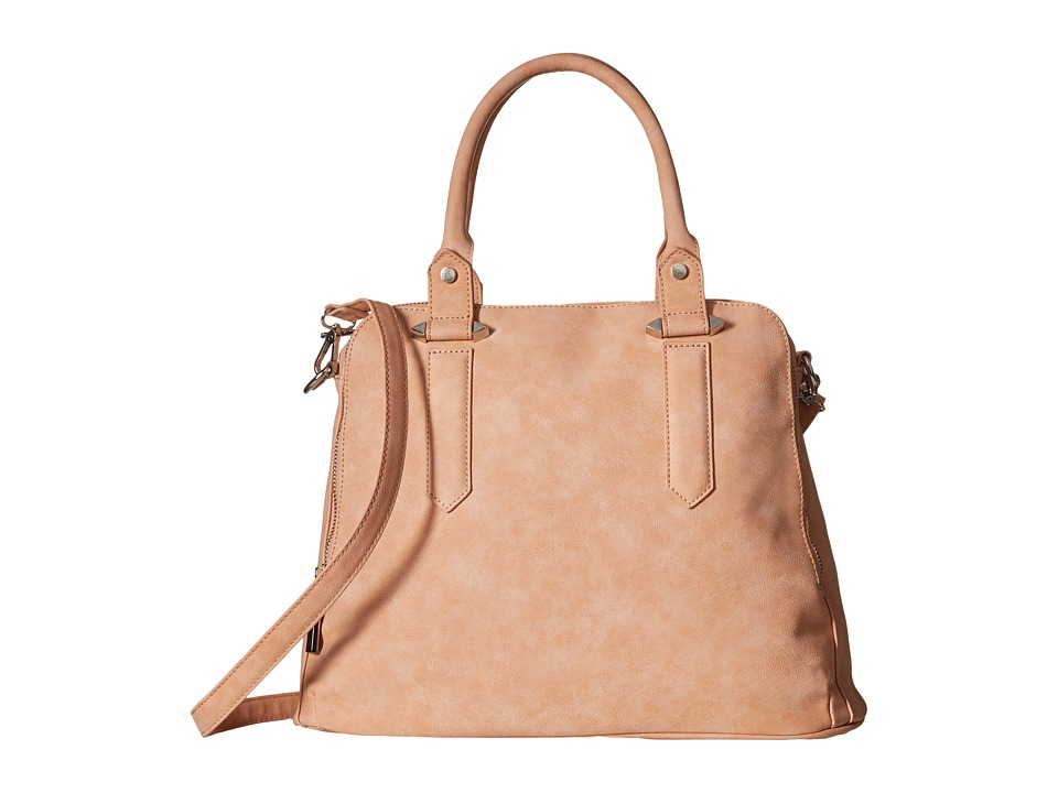 Gabriella Rocha - Maddison Triple Zipper Satchel (Peach) Satchel Handbags