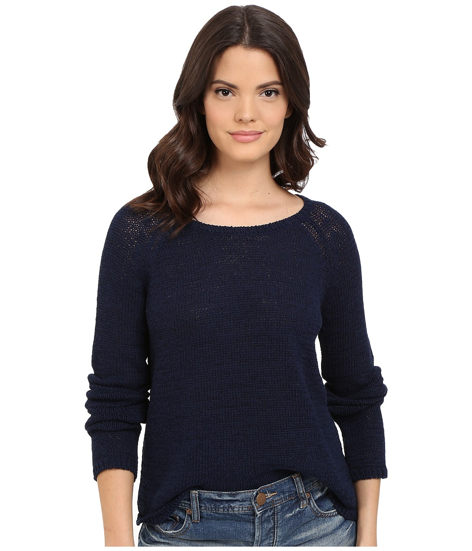 BB Dakota - Haleema Raglan Sweater (Navy) Women's Sweater