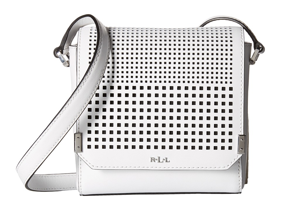 LAUREN Ralph Lauren - Sutton Ulyssia Crossbody (Bright White) Cross Body Handbags