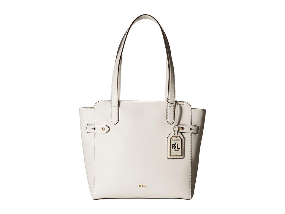 LAUREN Ralph Lauren - Harper Nara Shopper (Vanilla) Handbags