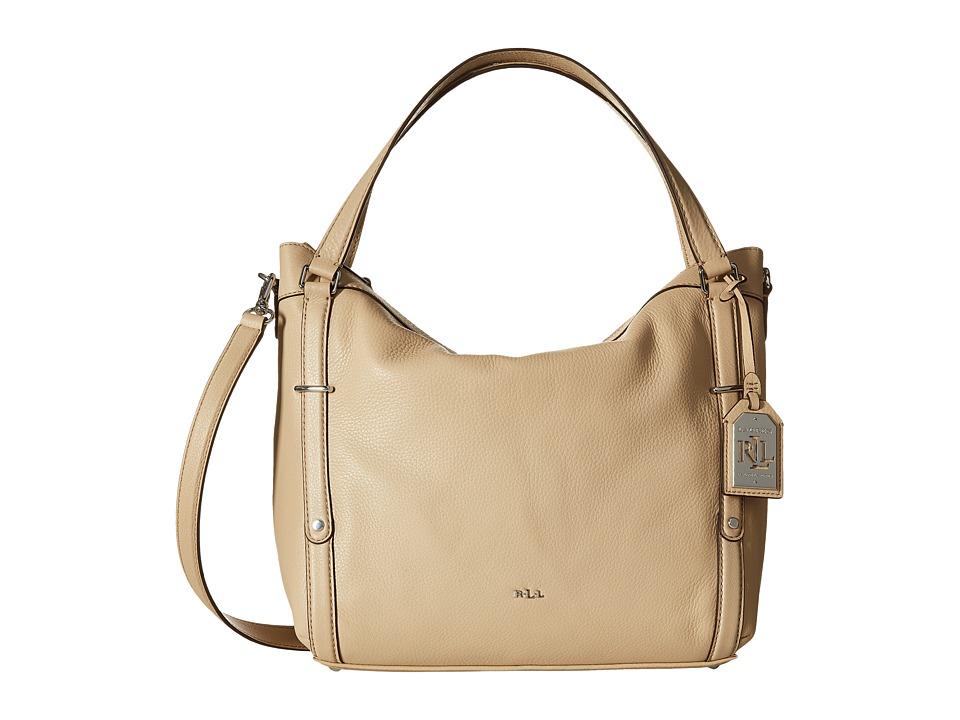 LAUREN Ralph Lauren - Grafton Felicity Hobo (Straw) Hobo Handbags