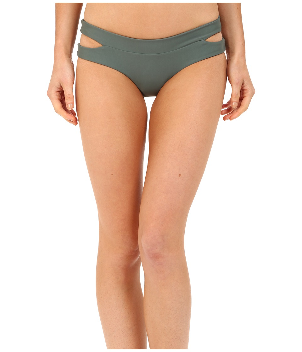MIKOH SWIMWEAR - Puka Puka Bottom (Army) Women's Swimwear