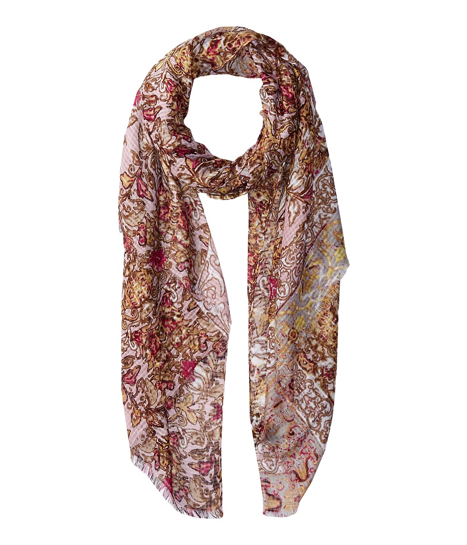 Steve Madden - Baroque Bouquet Day Wrap (Petal) Scarves