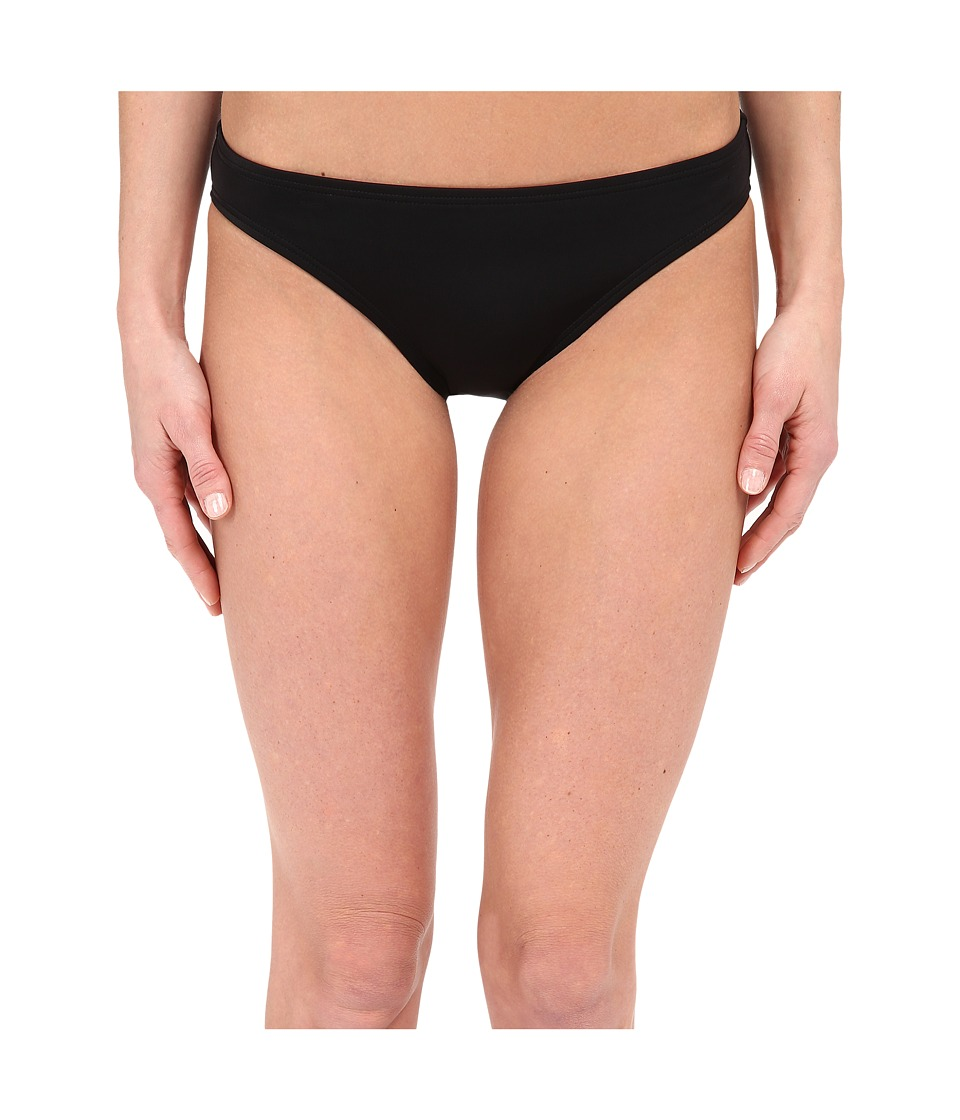 DKNY - Street Cast Solids Classic Bottom (Black) Women's Swimwear