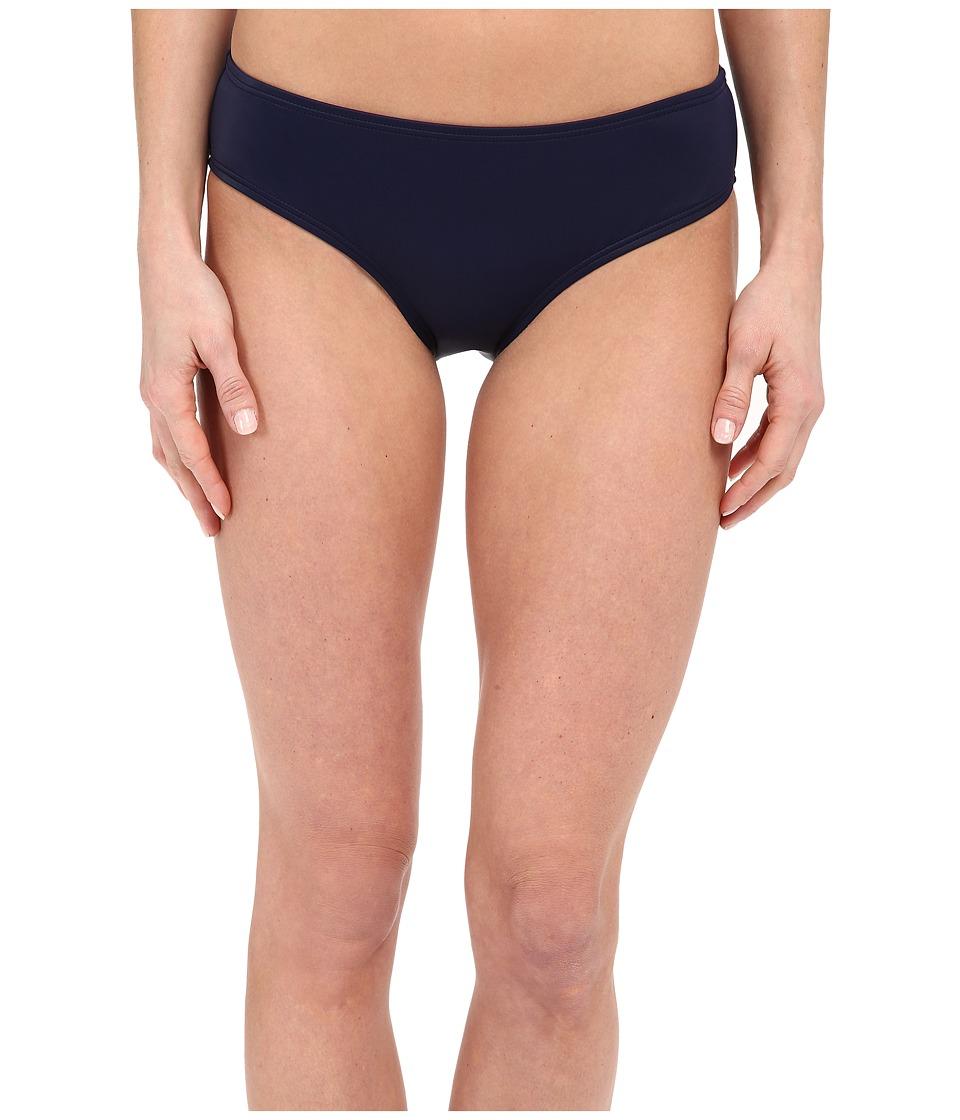 DKNY Street Cast Solids Hipster Bikini Bottom (Currant) Women