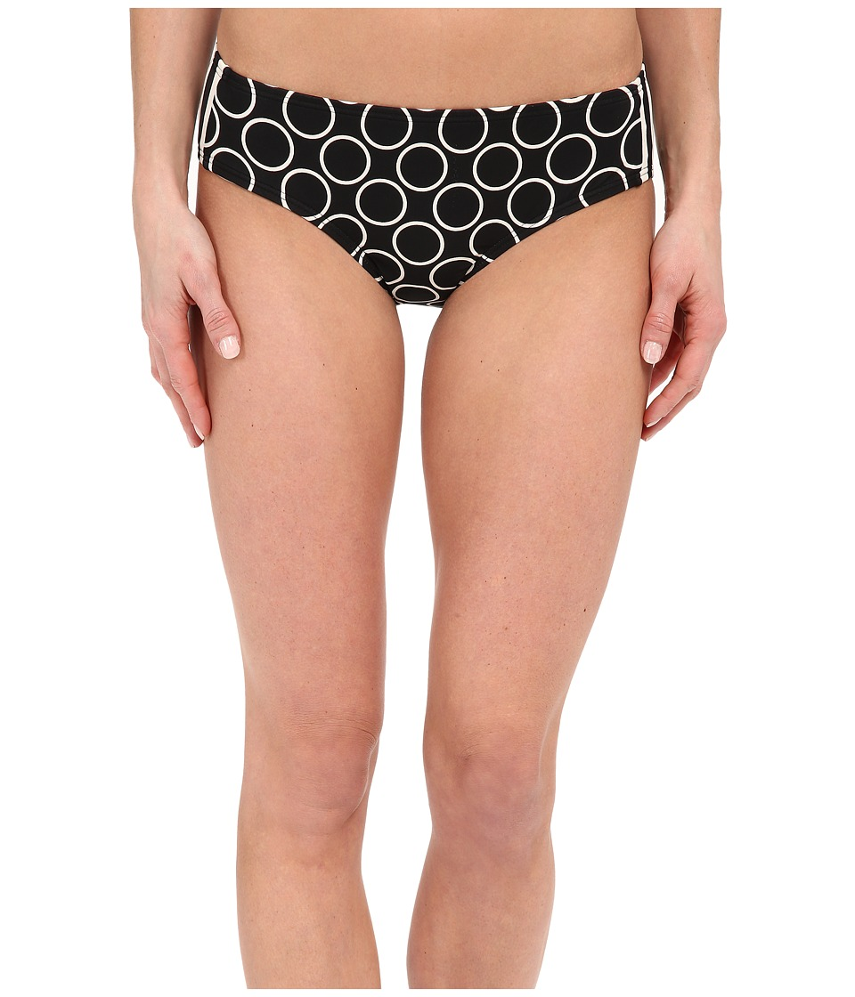 DKNY Close Up Side Panel Hipster Bottom (Black) Women