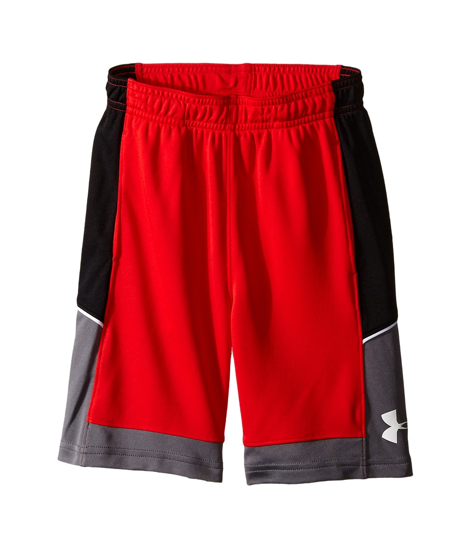 Under Armour Kids - Baseline Shorts (Toddler) (Risk Red) Boy's Shorts
