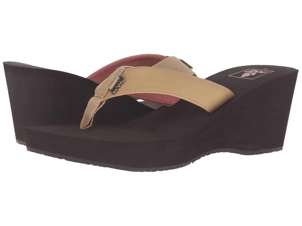 Reef - Mid Skies (Tan/Brown) Women's Sandals