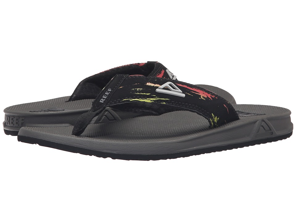 Reef - Phantom Prints (Red/Yellow) Men's Sandals