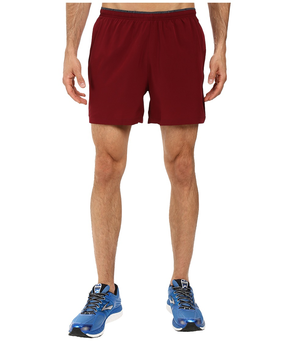 Brooks - Sherpa 5 2-in-1 Shorts (Root) Men's Shorts
