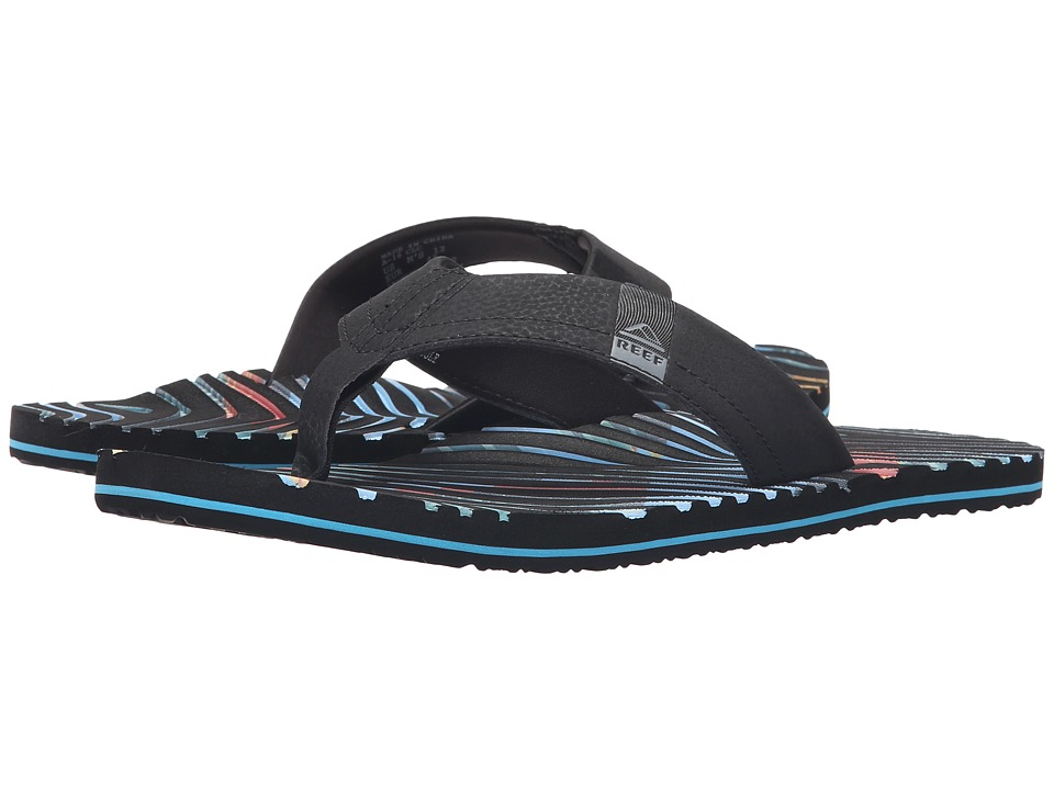 Reef - Thermoslice (Black/Multi) Men's Sandals