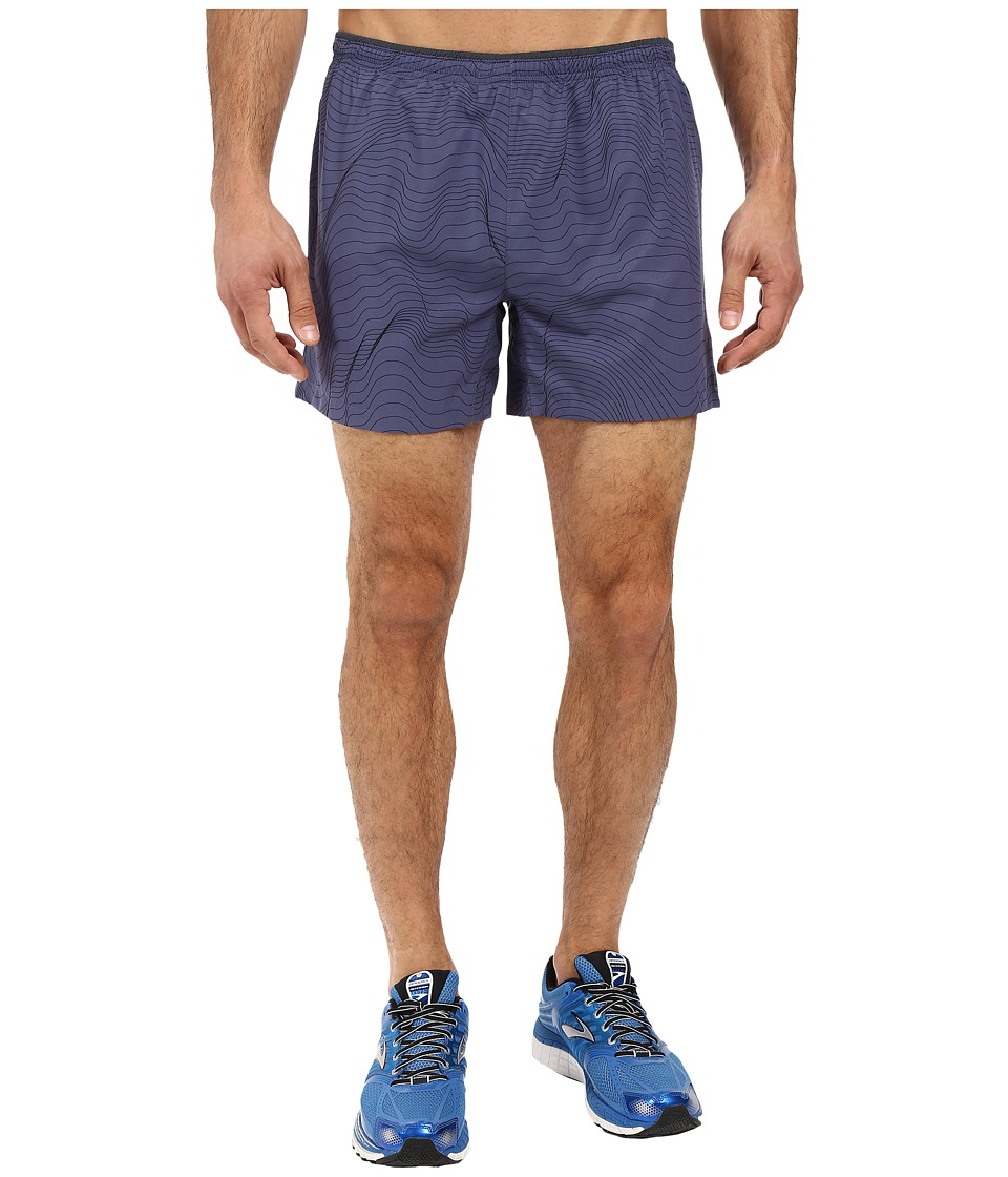 Brooks - Sherpa 5 Shorts (Coast Forge) Men's Shorts
