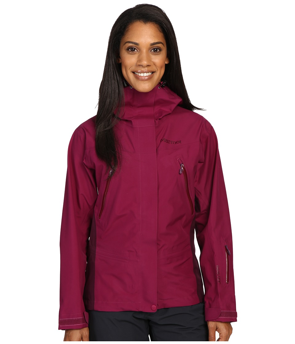 Marmot - Spire Jacket (Magenta/Dark Purple) Women's Coat