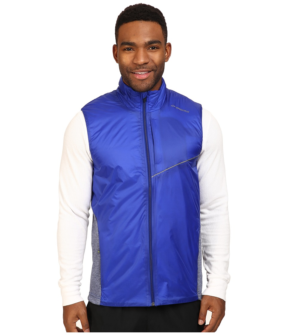 Brooks - LSD Thermal Vest (Basin/Heather Coast) Men's Vest