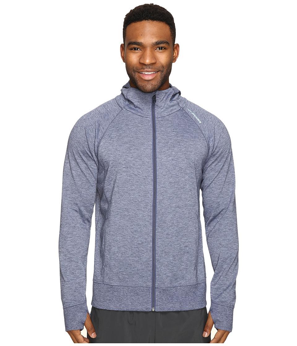 Brooks - Joyride Hoodie (Heather Coast) Men's Sweatshirt
