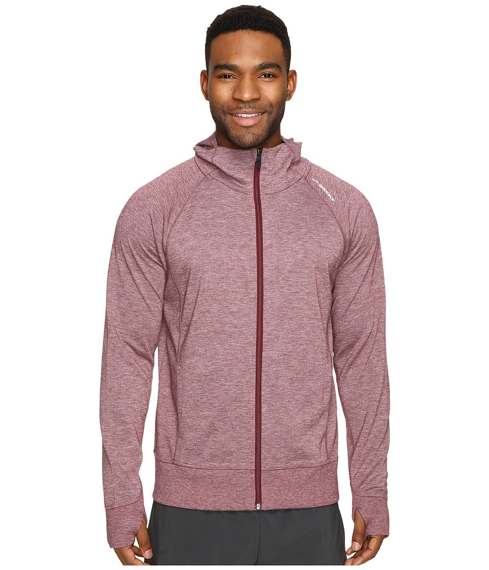 Brooks - Joyride Hoodie (Heather Root) Men's Sweatshirt