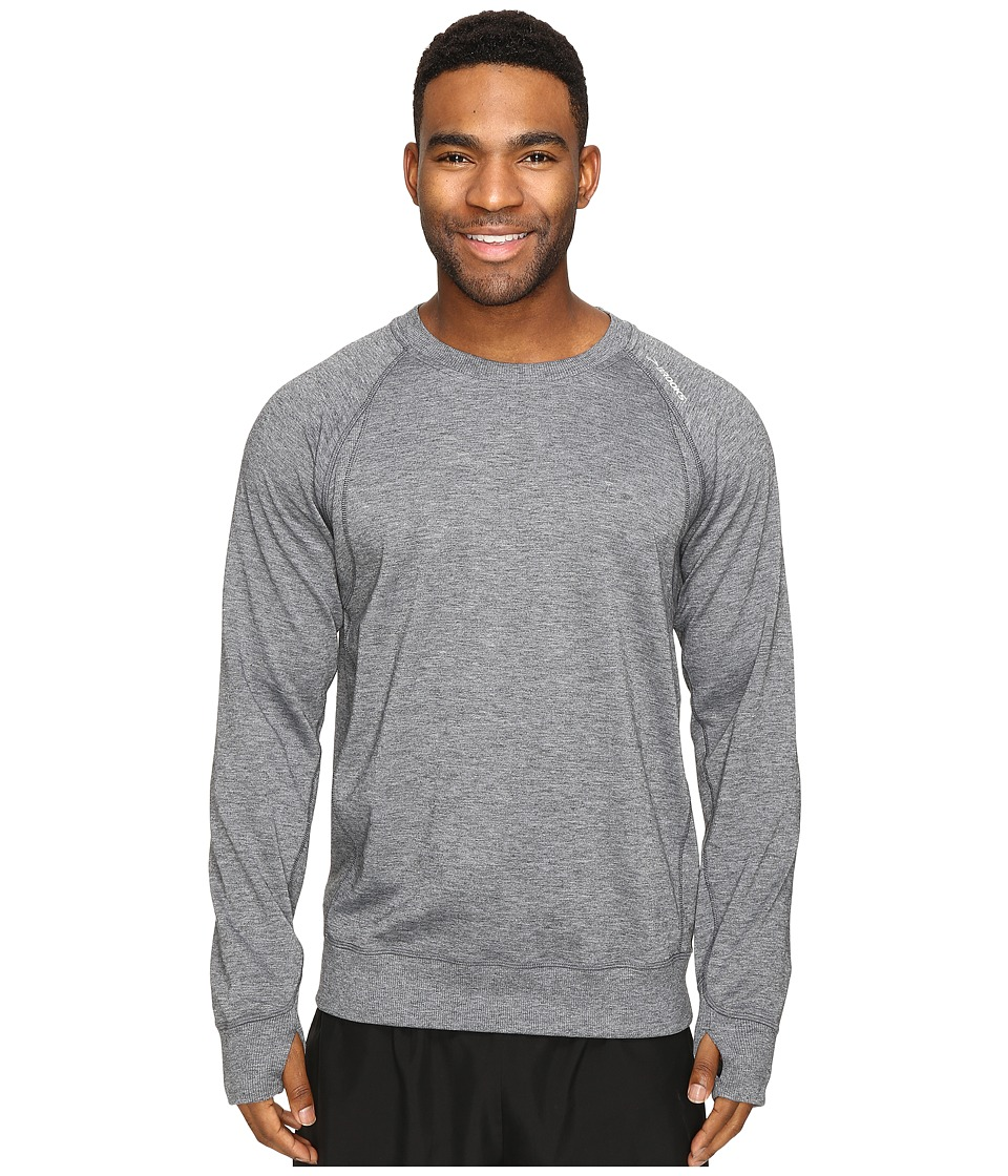 Brooks - Joyride Sweatshirt (Heather Black) Men's Sweatshirt